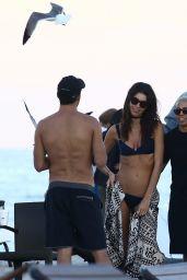Rachell Vallori in Bikini - Beach in Miami 11/25/2017