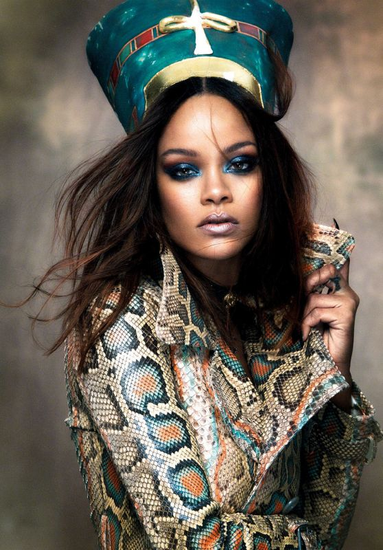 Rihanna - Vogue Arabia Magazine November 2017 Issue