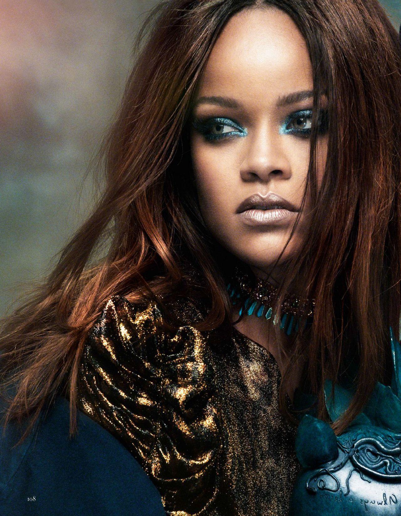 Rihanna - Vogue Arabia Magazine November 2017 Issue Rihanna