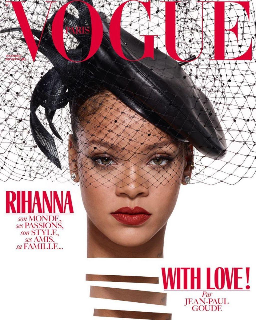 Vogue Paris: Vogue Magazine Paris December 2017/January 2018