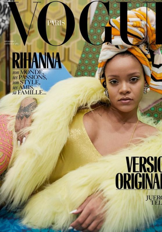 Rihanna - Vogue Magazine Paris December 2017/January 2018