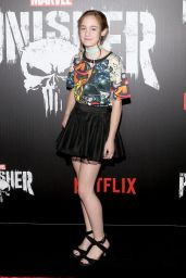 """Ripley Sobo – """"Marvel's The Punisher"""" Premiere in New York"""
