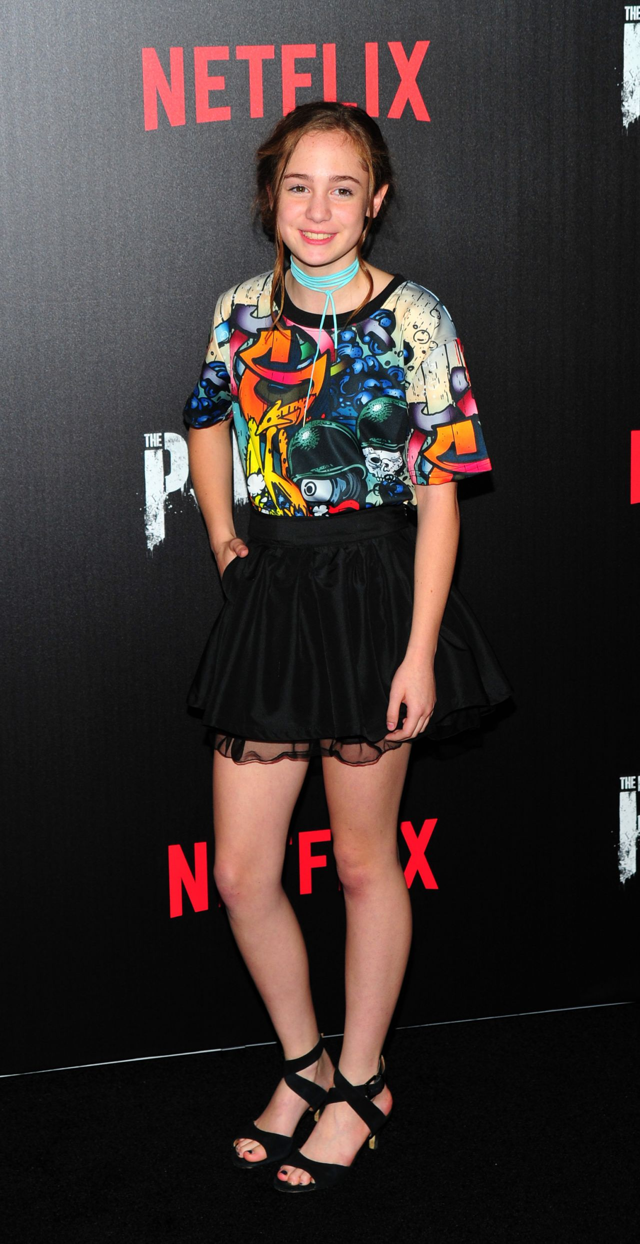 Ripley Sobo Marvel S The Punisher Premiere In New York