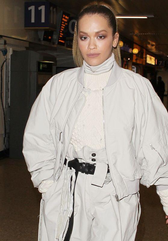 Rita Ora at London Euston Station 10/11/2017