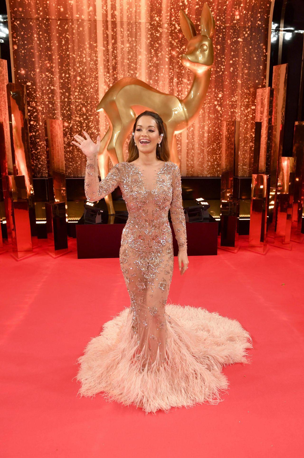 Rita Ora Bambi Awards 2017 In Berlin