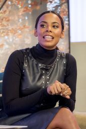 Rochelle Humes Appeared on This Morning TV Show in London 11/16/2017