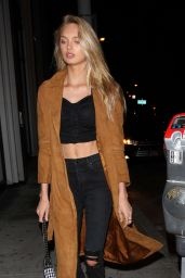 Romee Strijd Night Out - Catch LA in West Hollywood 11/04/2017