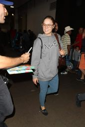 Ronda Rousey in Travel Outfit - LAX Airport in LA 11/07/2017
