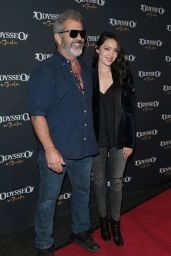 Rosalind Ross and Mel Gibson - Cavalia Odysseo Celebrity Premiere in Los Angeles