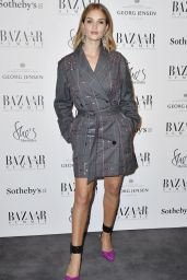 Rosie Huntington-Whiteley - Bazaar at Work VIP Cocktail Party in London 11/15/2017