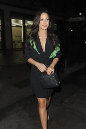 Roxie Nafousi - The Ivy Soho in London 11/20/2017