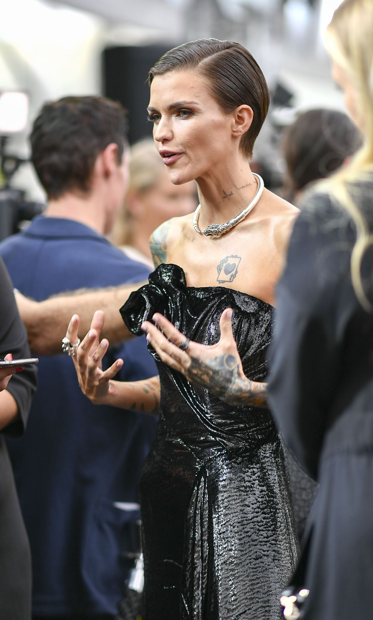 Ruby Rose Quot Pitch Perfect 3 Quot Premiere In Sydney
