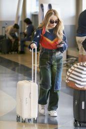 Sabrina Carpenter at LAX Airport in Los Angeles 11/08/2017