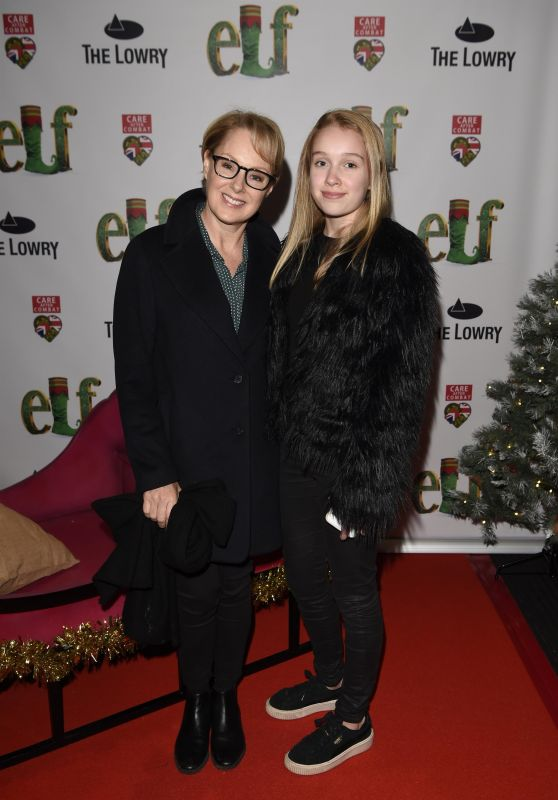 Sally Dynevor – Elf The Musical Press Night and Gala Performance in Manchester