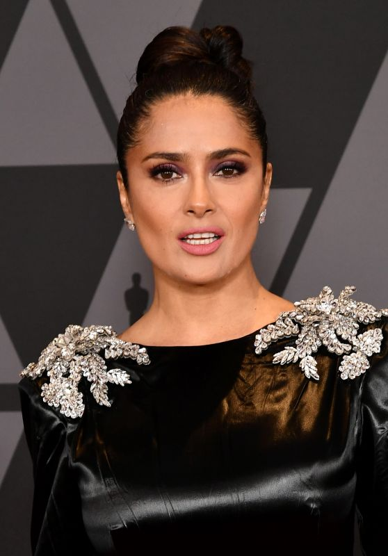 Salma Hayek – Governors Awards 2017 in Hollywood