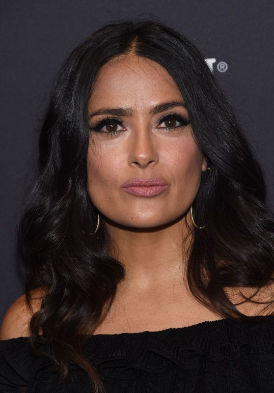 Salma Hayek – HFPA and InStyle Celebrate Golden Globe Season in Los Angeles 11/15/2017