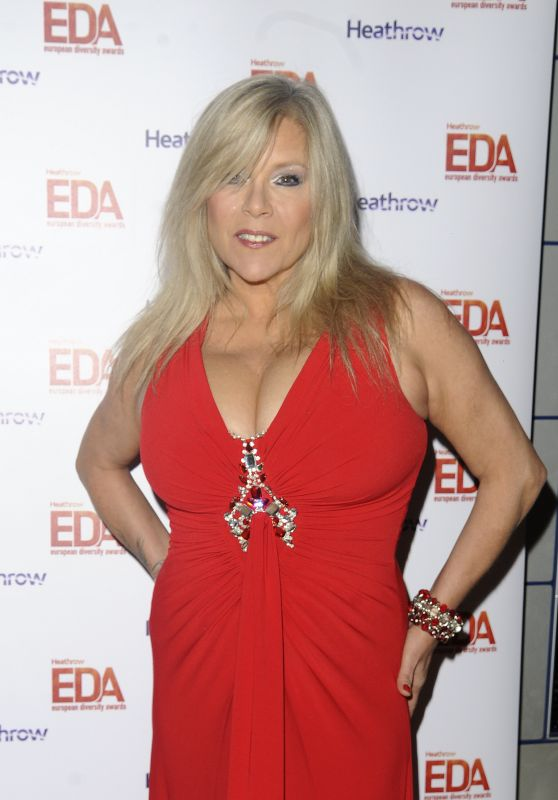Samantha Fox - European Diversity Awards 2017 in London