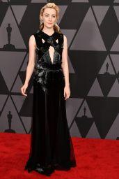 Saoirse Ronan – Governors Awards 2017 in Hollywood