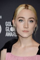 Saoirse Ronan – HFPA and InStyle Celebrate Golden Globe Season in Los Angeles 11/15/2017