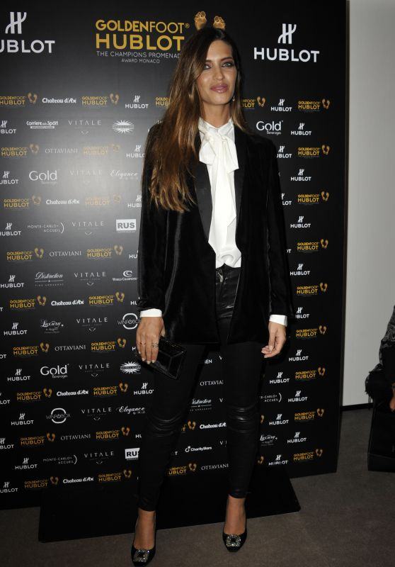 Sara Carbonero - Golden Foot Awards 2017 in Monaco