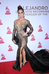 Sara Corrale – Latin Recording Academy Person of the Year in Las Vegas 11/15/2017