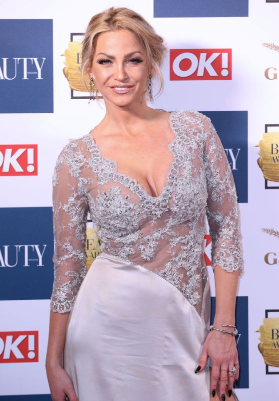 Sarah Harding – Beauty Awards With OK! in London