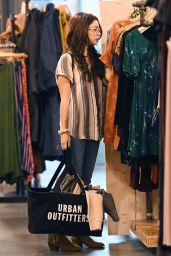 Sarah Hyland and Her New Boyfriend Wells Adams - Shopping at Urban Outfitters in Studio City 11/22/2017