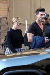 Scarlett Johansson - Wraps up a Rehearsal with Frank Grillo in Atlanta 11/05/2017