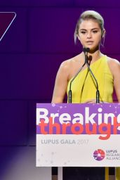 Selena Gomez at Lupus Charity Gala in New York 11/20/2017