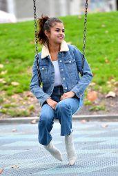 Selena Gomez Casual Style - Burbank 11/02/2017