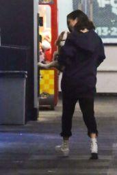 Selena Gomez - Watch Justin Bieber Play Ice Hockey in LA 11/15/2017
