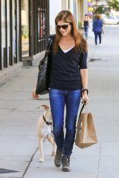 Selma Blair - Walking Her Dog in Los Angeles 11/14/2017