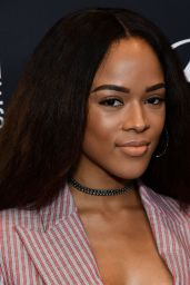 Serayah McNeill – HFPA and InStyle Celebrate Golden Globe Season in Los Angeles 11/15/2017