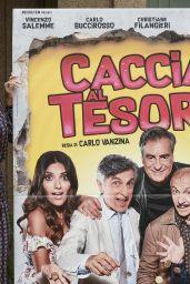 """Serena Rossi - """"Caccia al Tesoro"""" Movie Photocall in Rome 11/21/2017"""