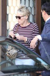 Sharon Stone at Cecconi