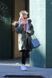 Sienna Miller Street Style - Out in NY 11/21/2017