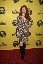 Sierra Boggess - 20th Anniversary Performance of The Lion King, NYC 11/06/2017