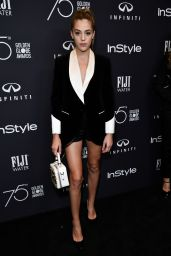 Sistine Rose Stallone – HFPA and InStyle Celebrate Golden Globe Season in Los Angeles 11/15/2017