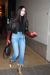 Sofia Carson Night Out Style - New York 11/21/2017