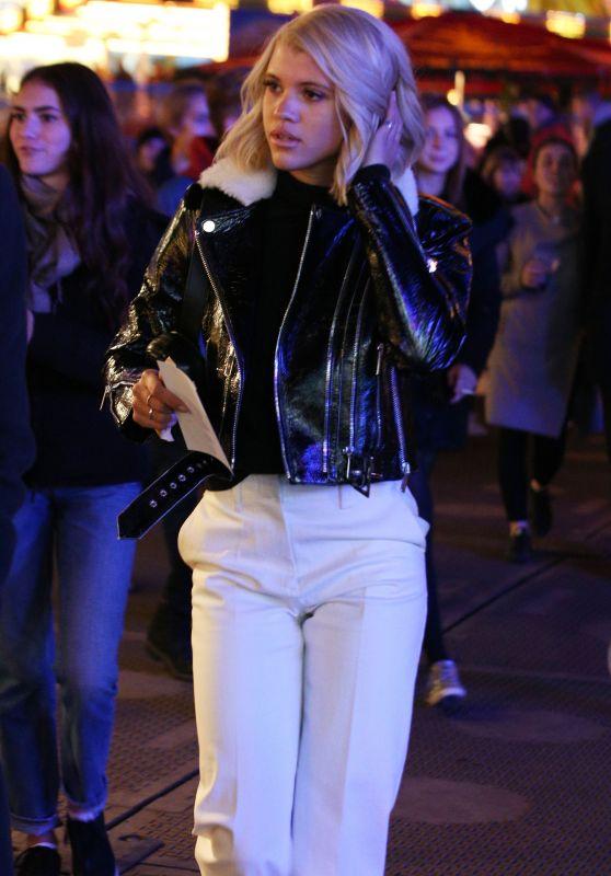 Sofia Richie - Winter Wonderland in  London 11/16/2017