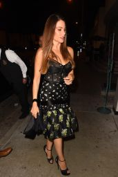 Sofia Vergara Night Out Fashion - Catch in LA 11/11/2017