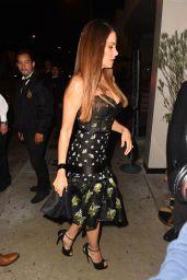 Sofia Vergara Night Out Fashion - Catch in LA 11/11/2017
