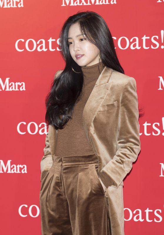 Son Na-eun – MaxMara Coats Collection Exhibition in Seoul