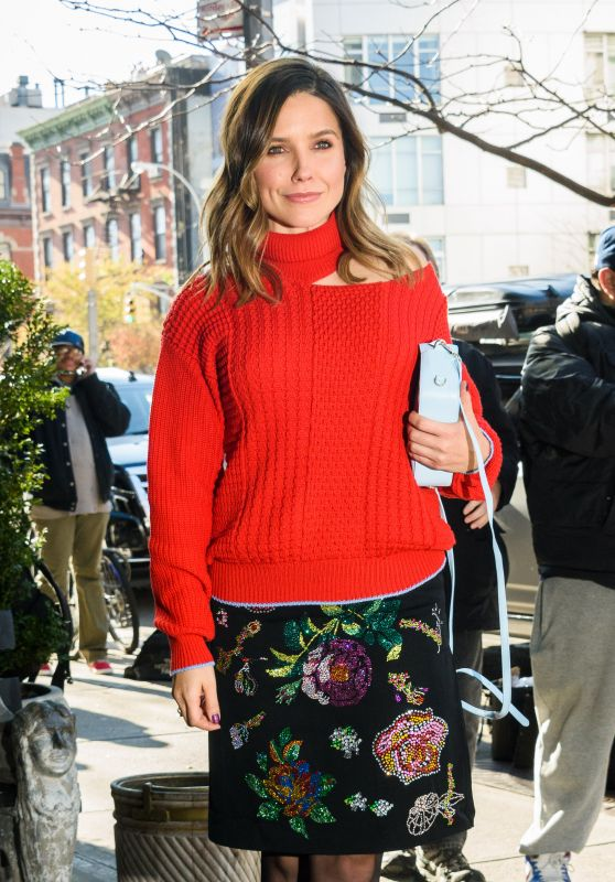 Sophia Bush - Arrives to the Bowery Hotel in NYC