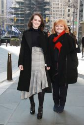 Sophie McSheera and Lesley Nicol at New York Live 11/16/2017