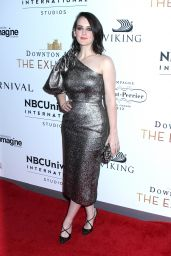 """Sophie McShera - NBCUniversal International Studios hosts the """"DOWNTON ABBEY: The Exhibition"""" in New York 11/17/2017"""