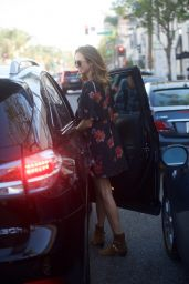Stacy Keibler - Makes a Quick Exit From Cafe Gratitude in Beverly Hills 11/14/2017