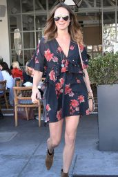 Stacy Keibler - Out in Beverly Hills 11/14/2017