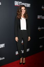 "Stefania Spampinato – ""Grey's Anatomy"" 300th Episode Celebration in LA"