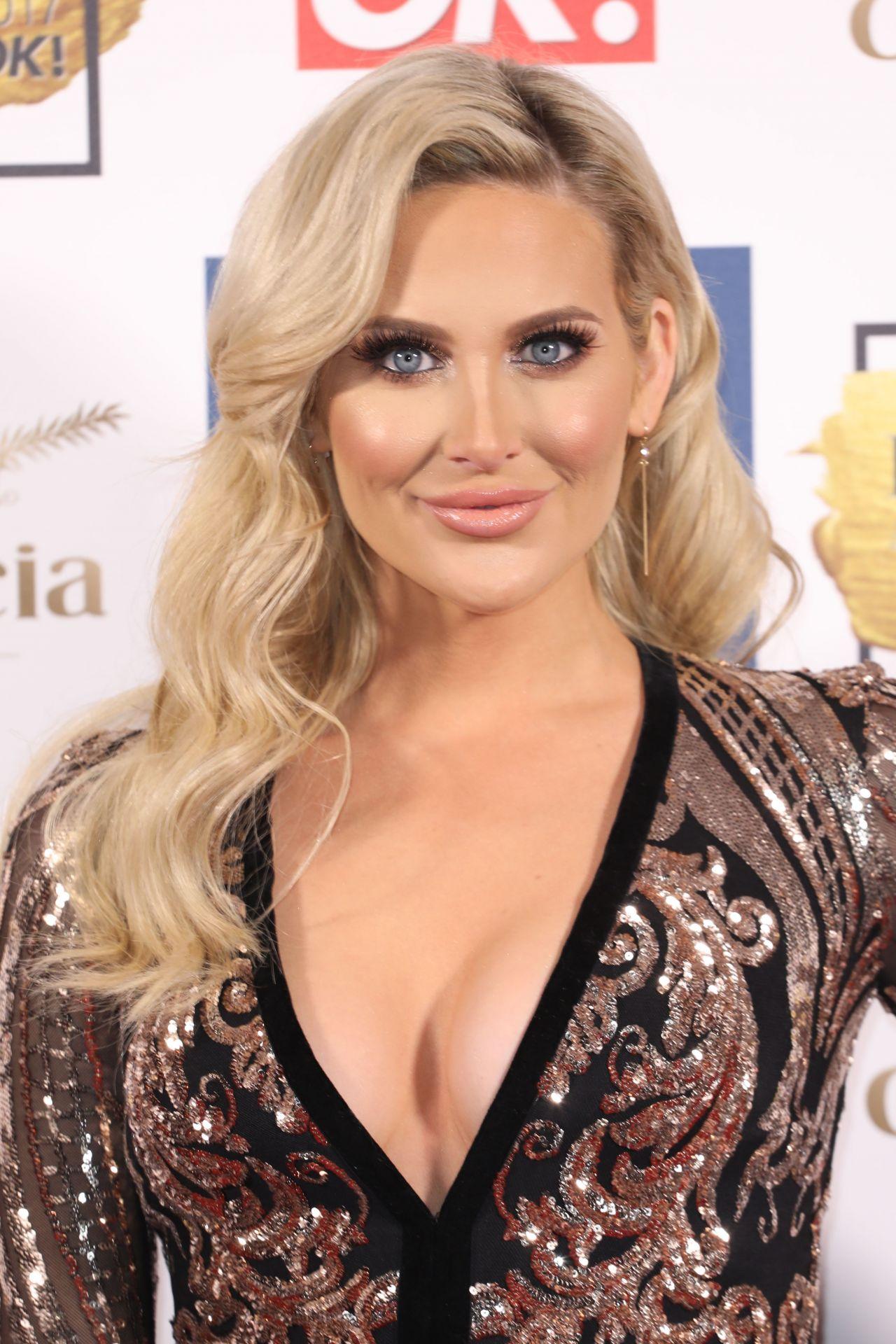 Stephanie Pratt Beauty Awards With Ok In London